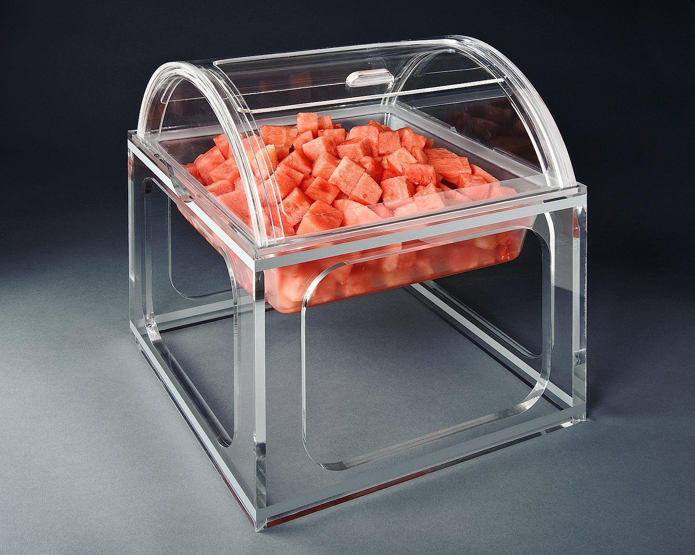 Rosseto LLP2913 Clear Acrylic Large Mod Pod Sliding Lid
