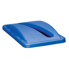 Slim Jim Recycling Container Top for 2703-88, Blue