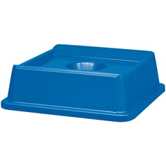 Slim Jim Recycling Container Top For 3958/3959, Blue