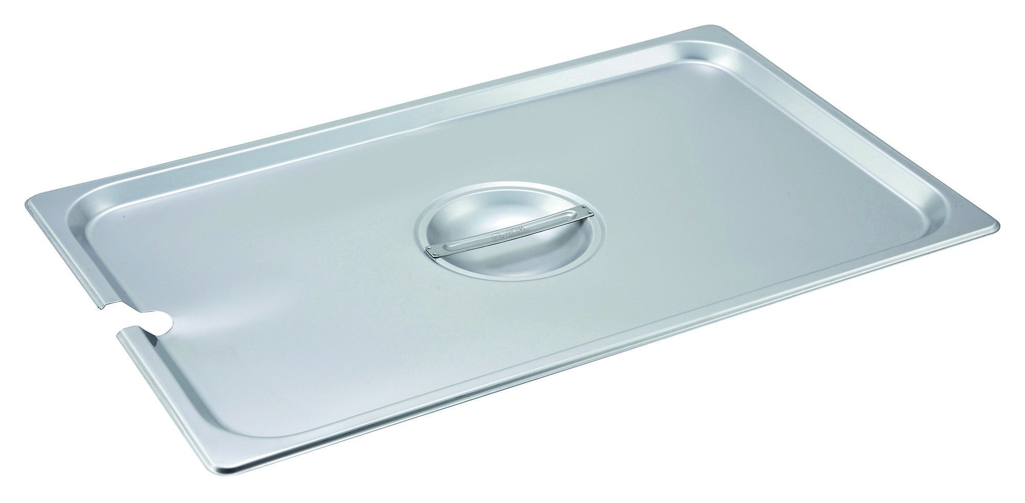 Slotted Stainless Steel Full-Size Steam Table Pan Cover