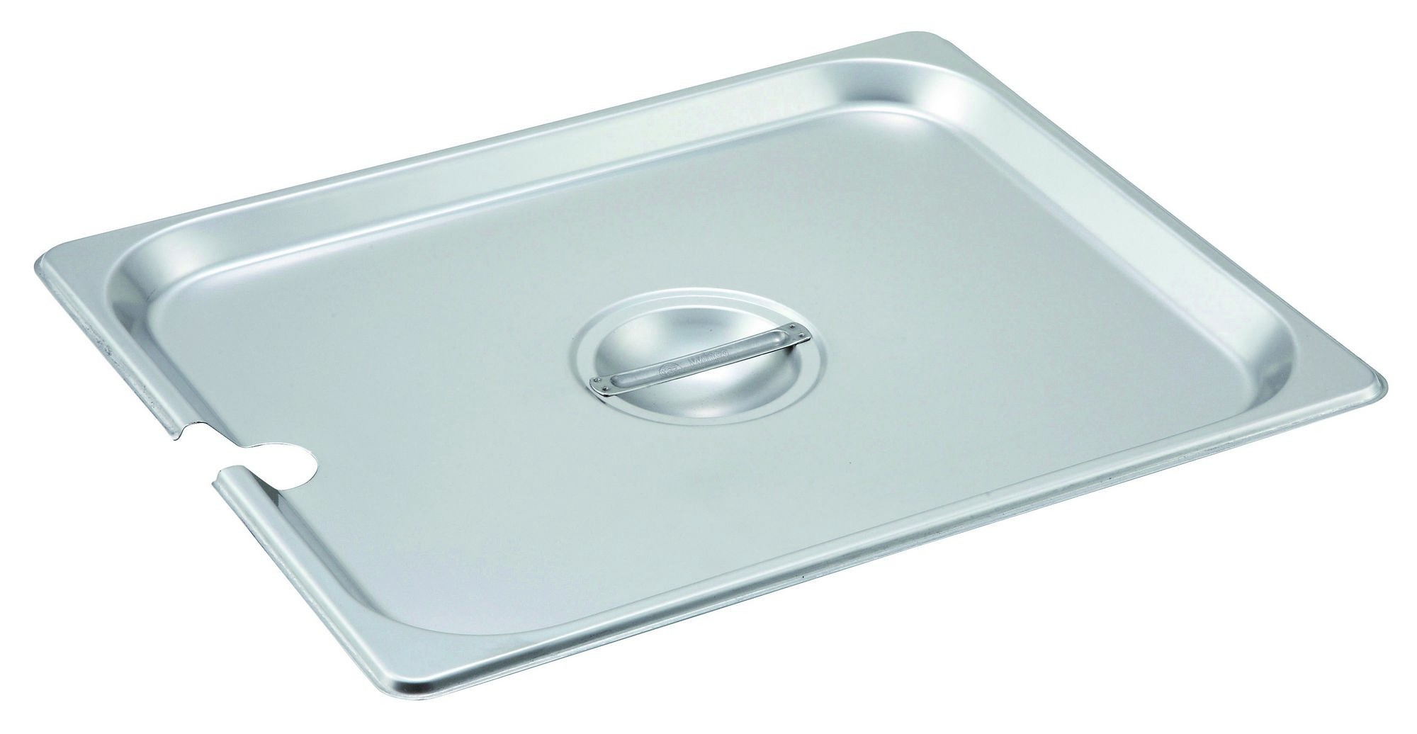 Winco SPCH Slotted Stainless Steel Half-Size Steam Table Pan Cover