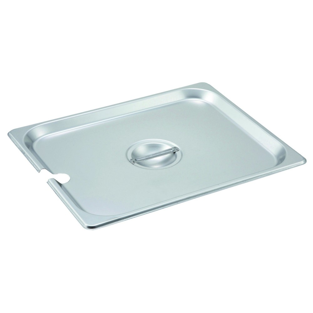 Slotted Stainless Steel Half-Size Steam Table Pan Cover