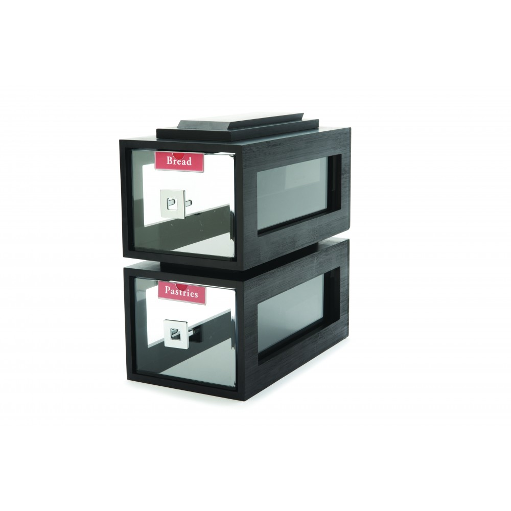 Bakery Black Matte Acrylic Drawer  Building Block- 8