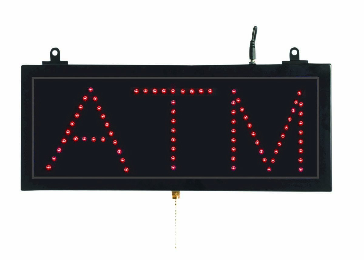 Small LED Sign ATM