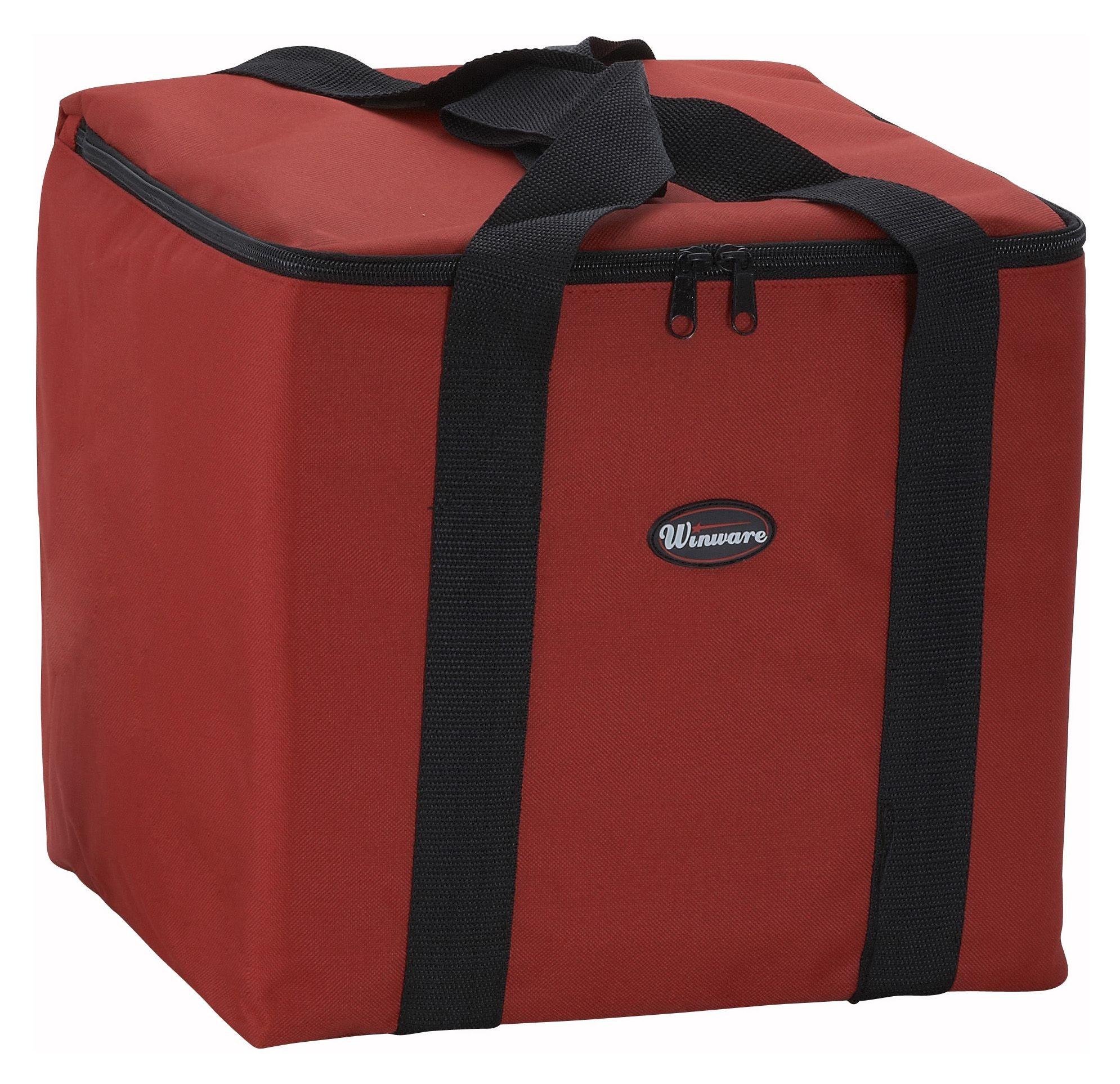 """Winco BGDV-12 Small Pizza Delivery Bag 12"""" x 12"""" x 12"""""""