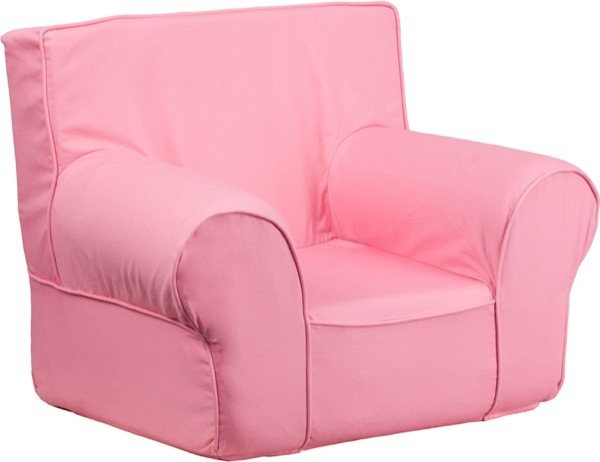 Flash Furniture dg-ch-kid-solid-pk-gg Small Solid Light Pink Kids Chair