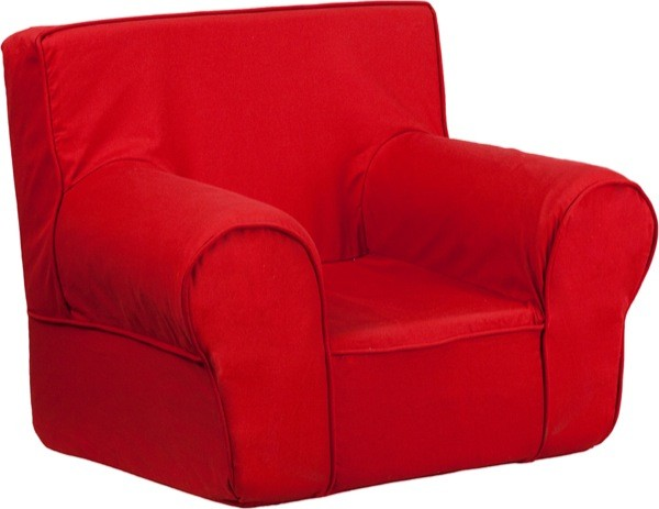Flash Furniture dg-ch-kid-solid-red-gg Small Solid Red Kids Chair