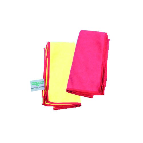 Smart Color Heavy Duty MicroWipe 4000 Wipes 16 X 16, Red & Yellow
