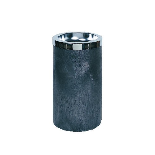 Smoking Urn with Top, Black &Chrome