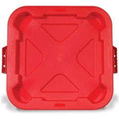 Snap On Square Lid For 3526, Red