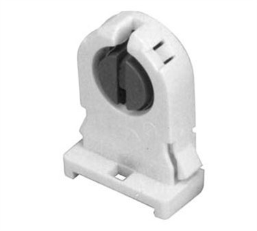 Socket, Fluorescent (Bi-Pin, T8)