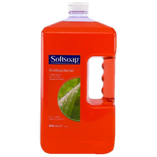 Softsoap Antibacterial Moisturizing Soap, 1 Gallon Bottles