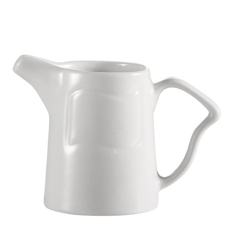 Soho Pattern Bone White 6 Oz. Creamer