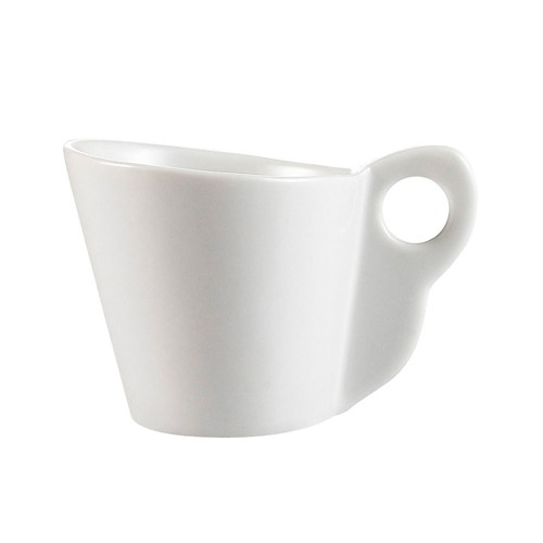 Soho Pattern Bone White Triangular Saucer For A.D. Cup - 5