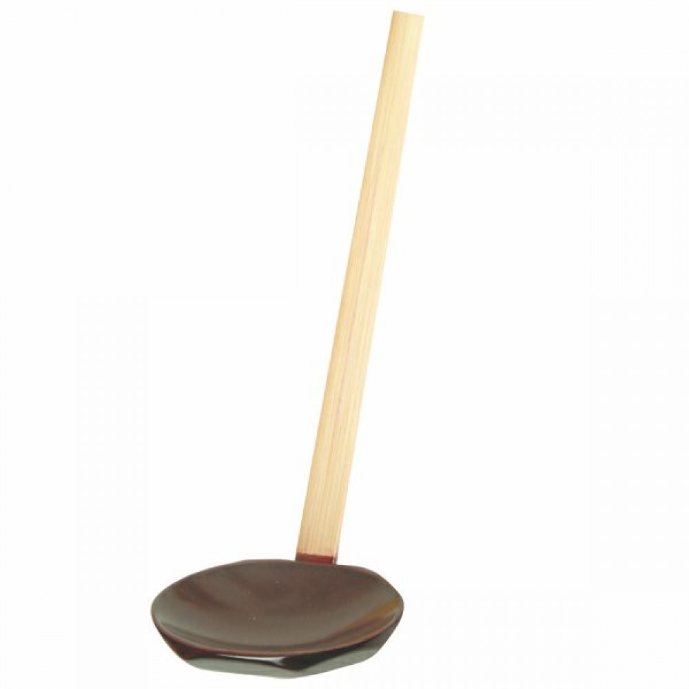 Solid Bamboo Soup Serving Spoon - 11