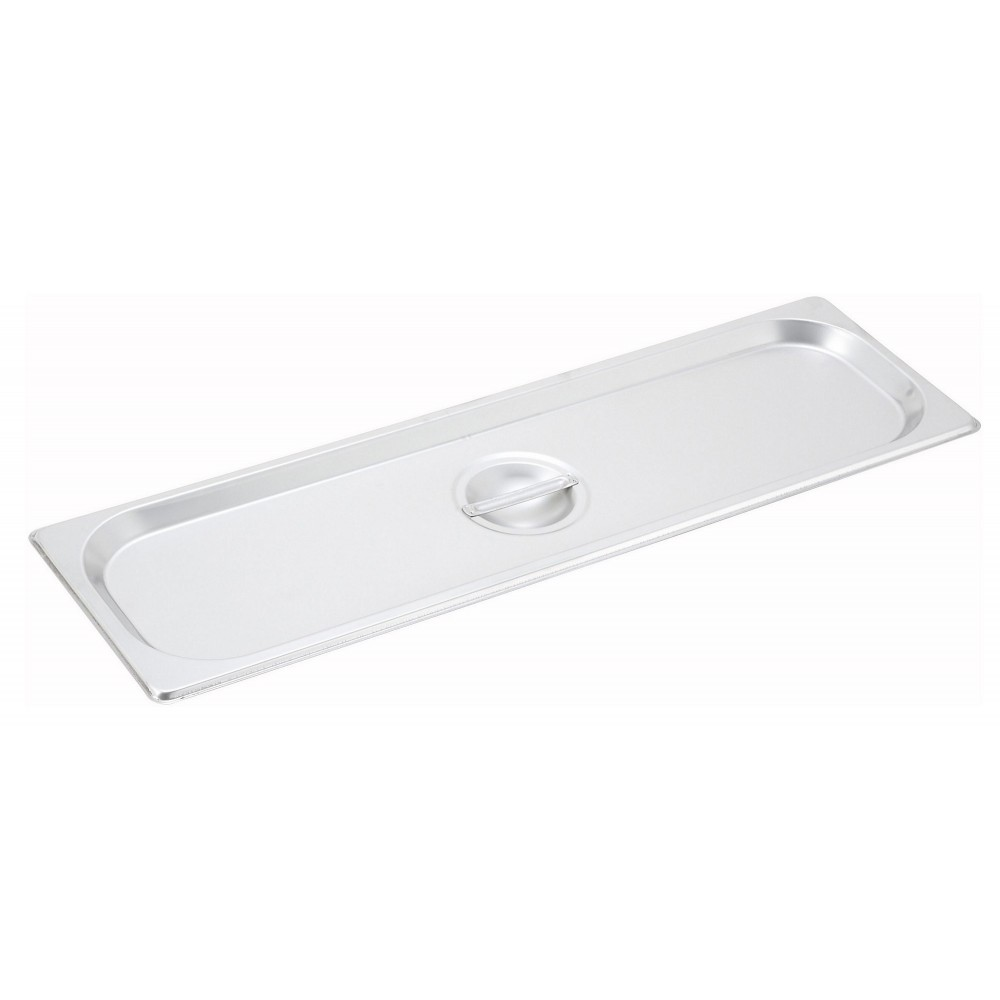 Solid Cover For Half-Long Steam Table Pan