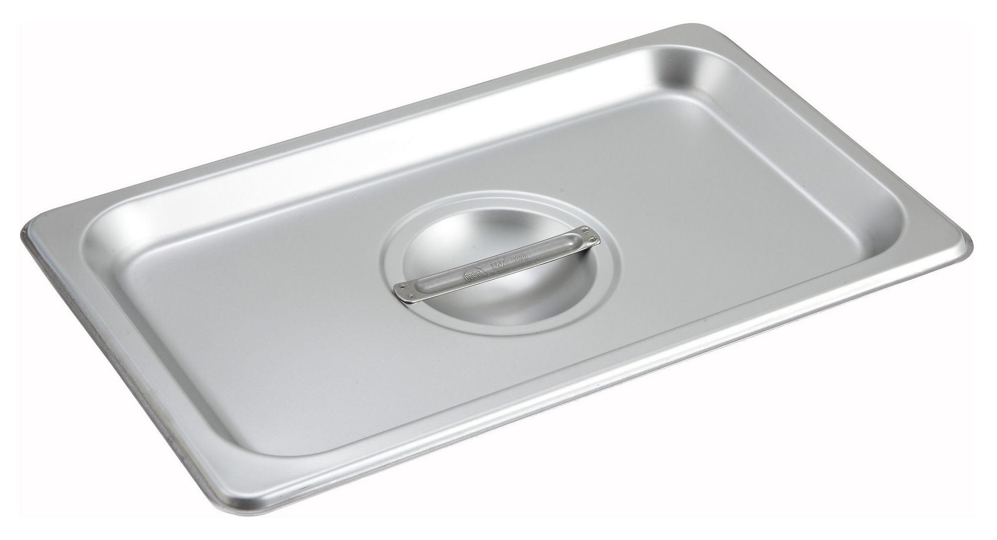 Winco SPSCQ Solid 1/4 Size Steam Table Pan Cover