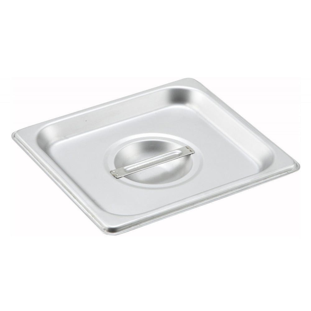 Winco SPSCS Solid 1/6 Size Steam Table Pan Cover