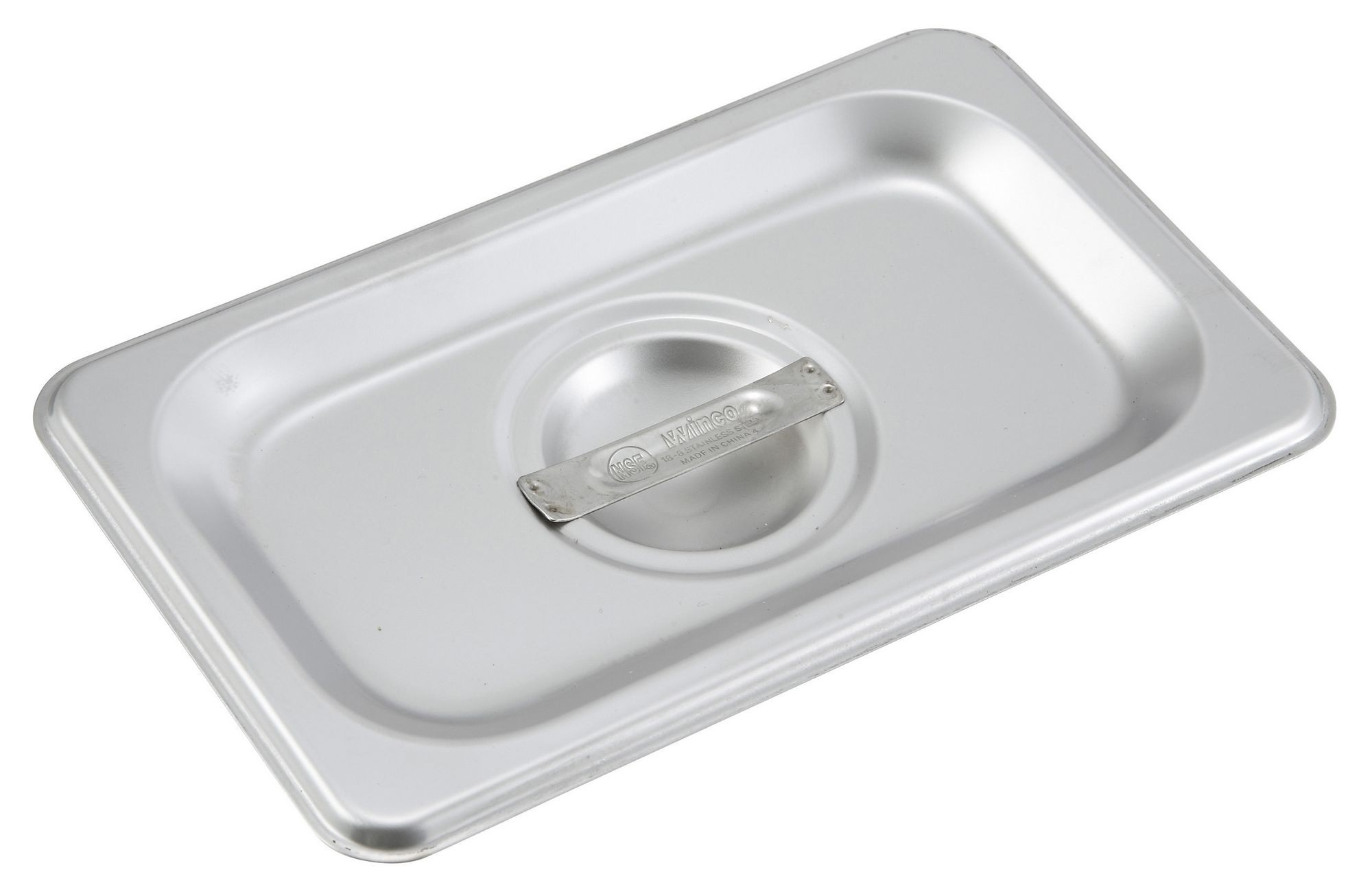Winco SPSCN Solid 1/9 Size Steam Table Pan Cover
