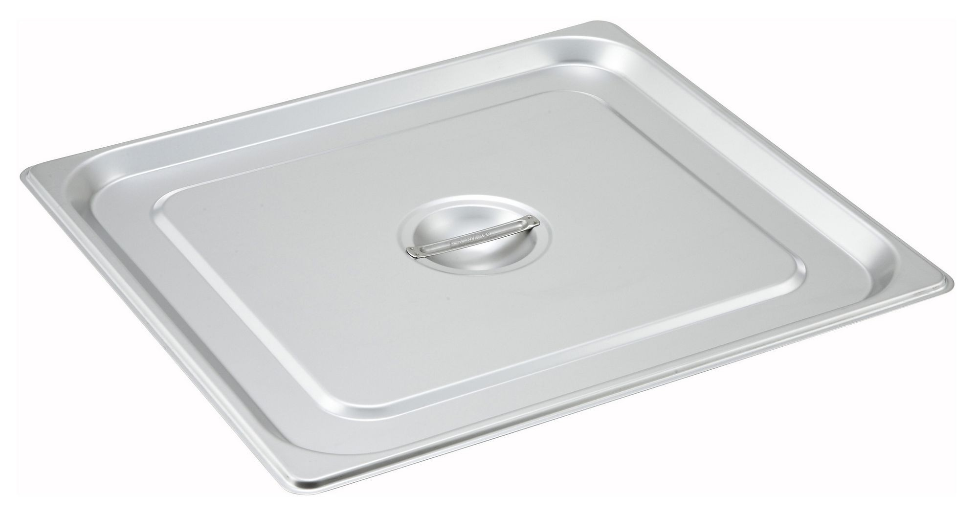 Solid Stainless Steel 2/3 Size Steam Table Pan Cover