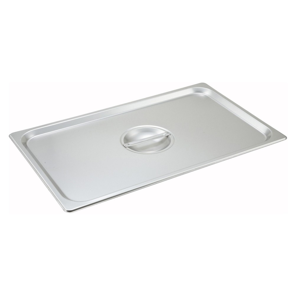 Solid Stainless Steel Full-Size Steam Table Pan Cover
