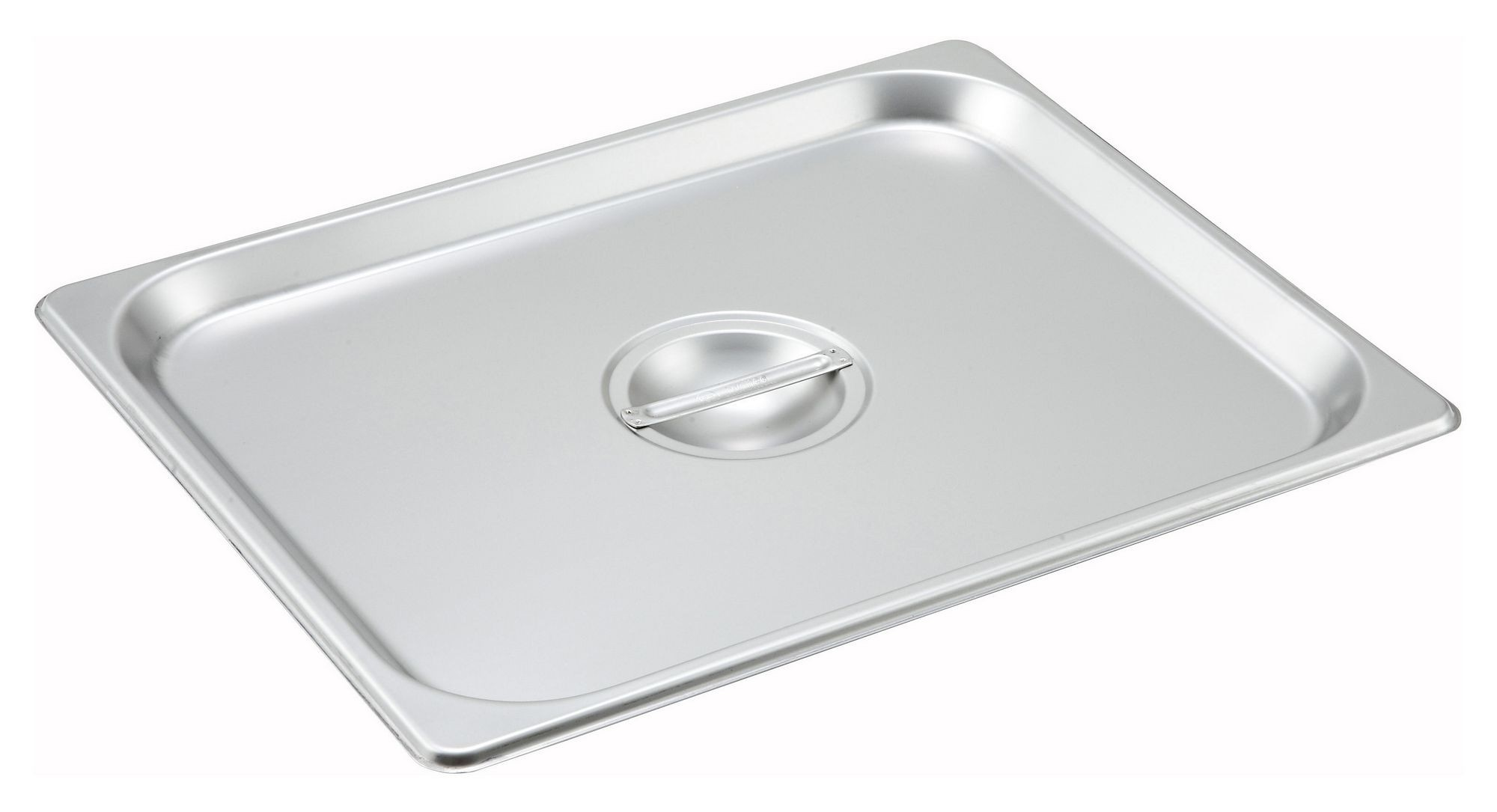 Solid Stainless Steel Half-Size Steam Table Pan Cover