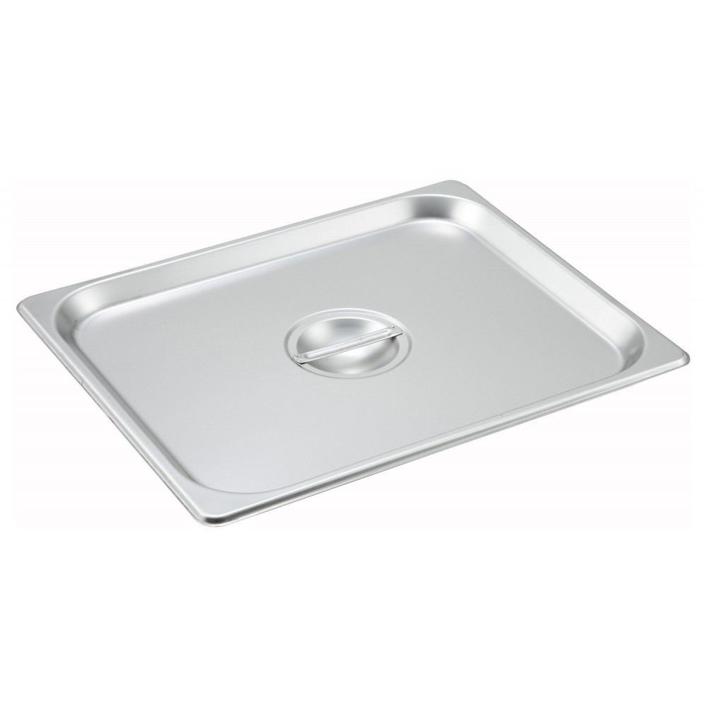 Winco SPSCH Solid Half-Size Steam Table Pan Cover