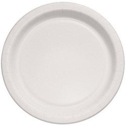 Solo Cup Bare Eco-Forward Clay-Coated Paper Plates, 8.5