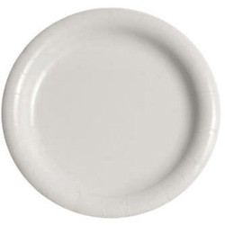 Solo Cup Bare Eco-Forward Clay-Coated Paper Plate, 9