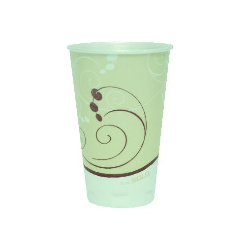 Solo Cup Foam Cups, Hot/Cold, 20 oz., Symphony Design (Box of 750)