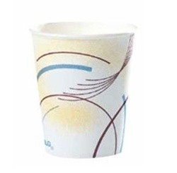 Solo Cup Paper Water Cups, 5 oz., Cold, Meridian Design, Multicolored, 100/Bag (Box of 2500)