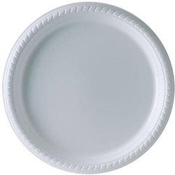 Solo Cup Plastic Plates, 10 1/4 Inches, White, Round, 25/Pack (Box of 500)