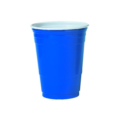 Solo Cup SOLO 16 OZ Blue Plastic Party Cup (Box of 1000)