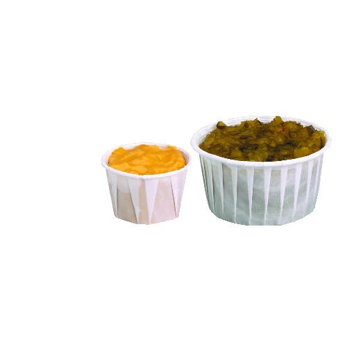 Solo Cup SOLO 3/4 Oz Paper Souffle Cup (Box of 5000)