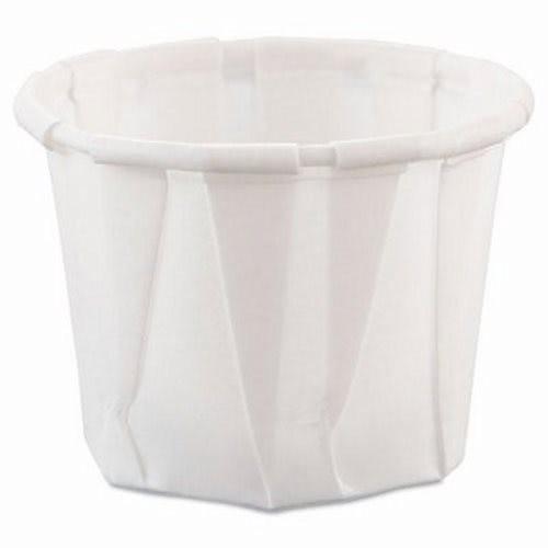 Dart Paper Portion Cups, .75 oz, 5000/Carton