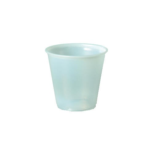 Solo Cup SOLO 3.5 Oz Translucent Plastic Sampling Cup (Box of 2500)