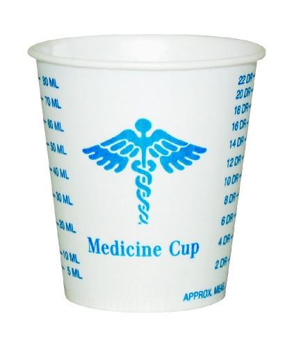Solo Cup SOLO Graduated Medicine Paper Cup (Box of 2000)