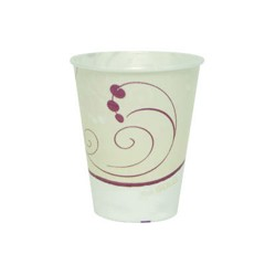 Solo Cup Trophy Insulated Thin-Wall Foam Cups, 10 oz., Hot/Cold, Symphony Design (Box of 1500)