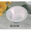 Thunder Group NS307W Nustone White Melamine Soup/Cereal Bowl 12 oz., 6-1/2""