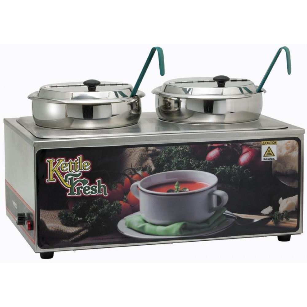 Soup Merchandise with two 7qt insets,