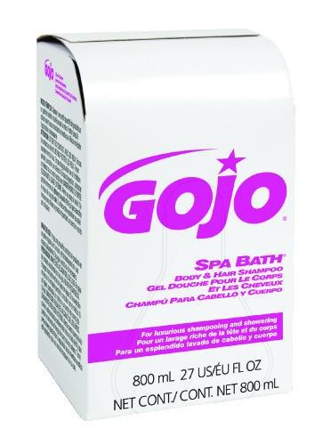Spa Bath Body & Hair Shampoo Bag in Box, Herbal Scent, 800 Ml