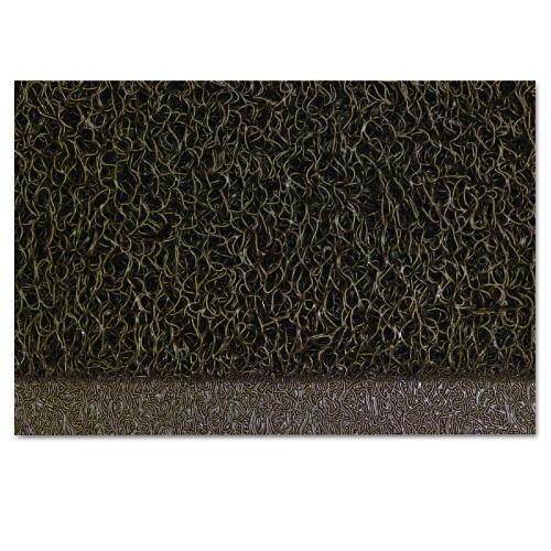 Spaghetti Mat/Vinyl Loopbrown,4'X6',Crimping