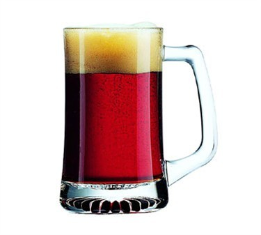 Sport 14-1/2 Oz. Glass Beer Mug - 5-1/2