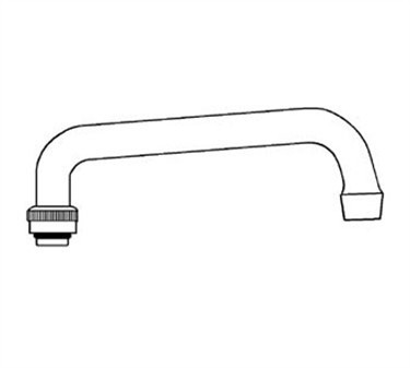 Franklin Machine Products  106-1015 Spout (14, Commercial Duty )