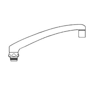 Franklin Machine Products  115-1015 Spout (6, Chicago )