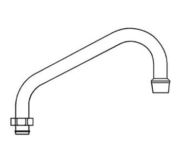 Franklin Machine Products  113-1058 Spout (6 by Fisher