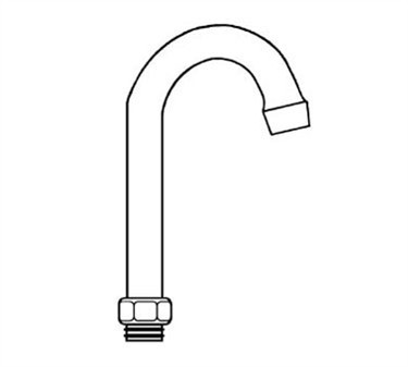 Franklin Machine Products  106-1017 Spout, Gooseneck (3 )