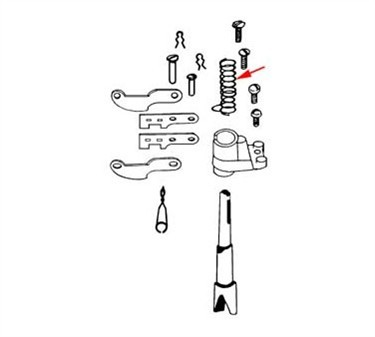 Franklin Machine Products  261-1020 Spring, Compression (Sterling)