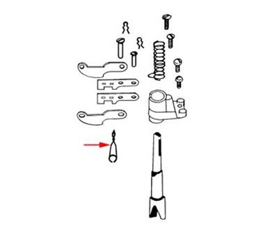 Franklin Machine Products  261-1019 Spring, Retaining (Cup Holder)