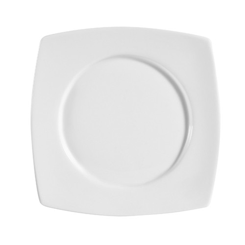 """CAC China RCN-SQ16 Clinton Square in Round Plate, 10 1/2"""""""